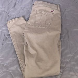 Hollister Tan Pants- Perfect Condition
